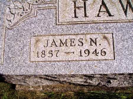 HAWKINS, JAMES N. - CLOSEVIEW - Meigs County, Ohio | JAMES N. - CLOSEVIEW HAWKINS - Ohio Gravestone Photos