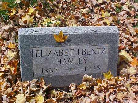 HAWLEY, ELIZABETH - Meigs County, Ohio | ELIZABETH HAWLEY - Ohio Gravestone Photos