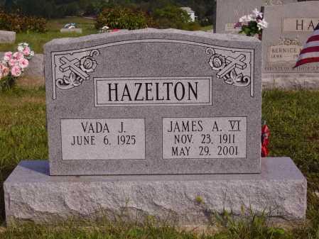 HAZELTON, JAMES A., VI - Meigs County, Ohio | JAMES A., VI HAZELTON - Ohio Gravestone Photos