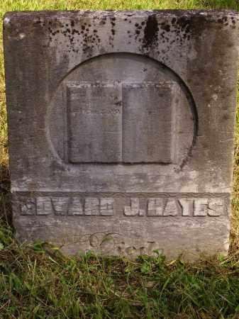 HAYES, EDWARD - Meigs County, Ohio | EDWARD HAYES - Ohio Gravestone Photos