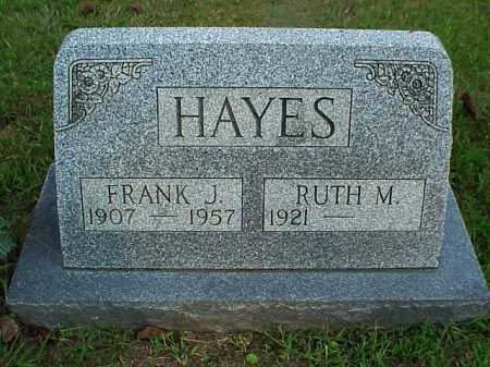 HAYES, FRANK J. - Meigs County, Ohio | FRANK J. HAYES - Ohio Gravestone Photos