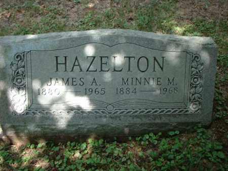 HAZELTON, JAMES A. - Meigs County, Ohio | JAMES A. HAZELTON - Ohio Gravestone Photos