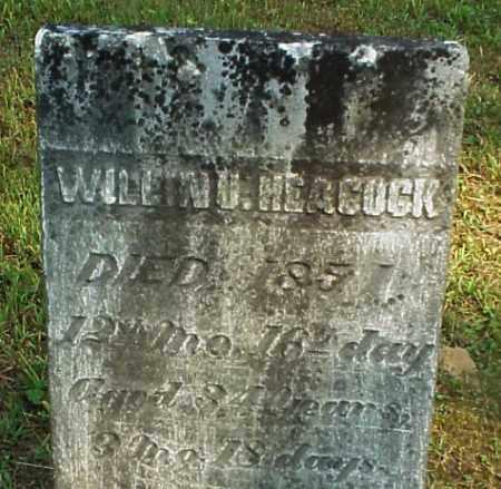 HEACOCK, WILLIAM U. - Meigs County, Ohio   WILLIAM U. HEACOCK - Ohio Gravestone Photos