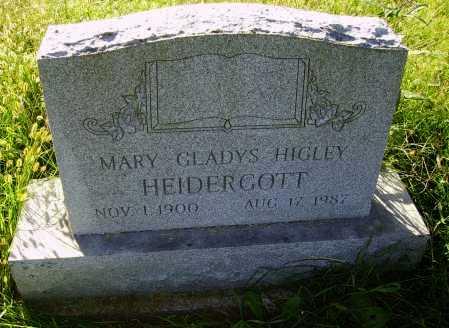 HEIDERGOTT, MARY GLADYS - Meigs County, Ohio | MARY GLADYS HEIDERGOTT - Ohio Gravestone Photos
