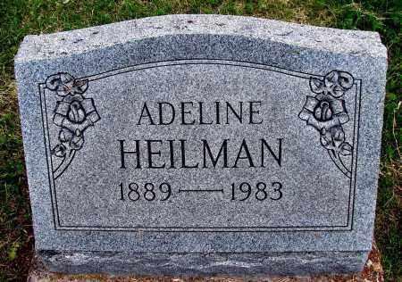 HEILMAN, ADELINE - Meigs County, Ohio | ADELINE HEILMAN - Ohio Gravestone Photos