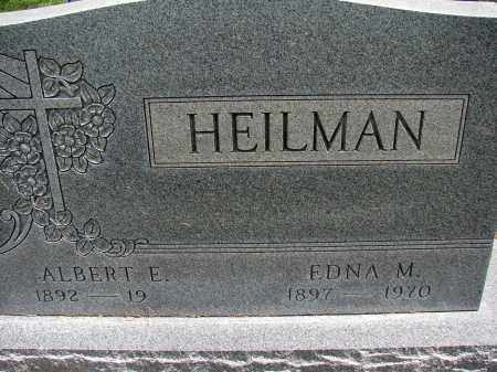HEILMAN, ALBERT E - Meigs County, Ohio | ALBERT E HEILMAN - Ohio Gravestone Photos