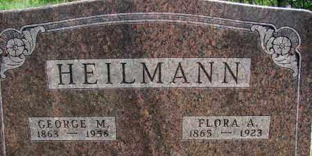 HEILMAN, GEORGE M - Meigs County, Ohio | GEORGE M HEILMAN - Ohio Gravestone Photos