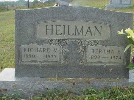 HEILMAN, RICHARD V. - Meigs County, Ohio | RICHARD V. HEILMAN - Ohio Gravestone Photos