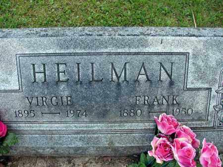 HEILMAN, FRANK - Meigs County, Ohio | FRANK HEILMAN - Ohio Gravestone Photos