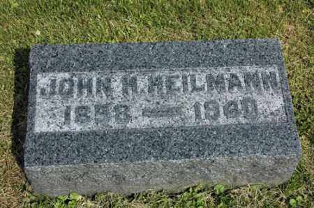 HEILMANN, JOHN H. - Meigs County, Ohio | JOHN H. HEILMANN - Ohio Gravestone Photos
