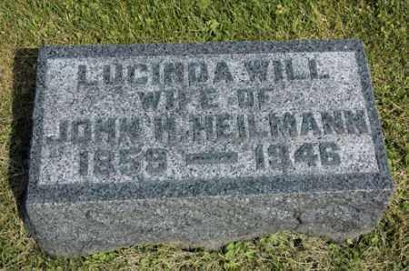 HEILMANN, LUCINDA - Meigs County, Ohio | LUCINDA HEILMANN - Ohio Gravestone Photos