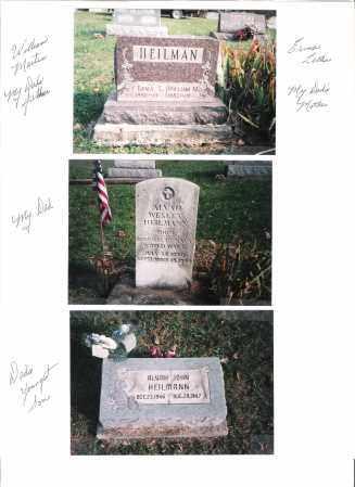 HEILMANN, ALVAH JOHN - Meigs County, Ohio | ALVAH JOHN HEILMANN - Ohio Gravestone Photos