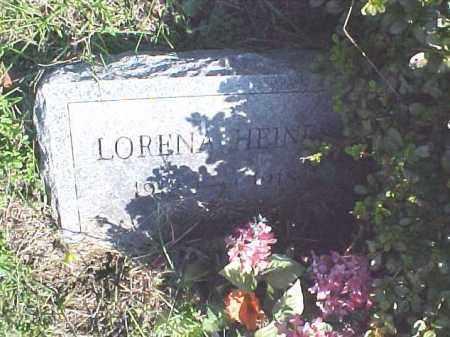 HEINES, LORENA - Meigs County, Ohio | LORENA HEINES - Ohio Gravestone Photos