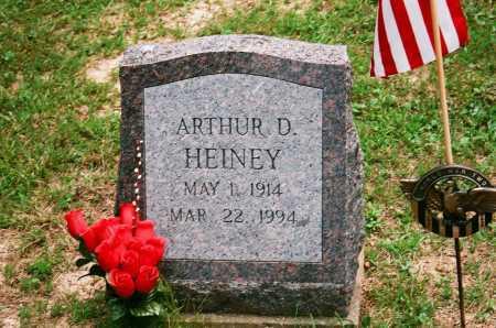 HEINEY, ARTHUR D. - Meigs County, Ohio | ARTHUR D. HEINEY - Ohio Gravestone Photos