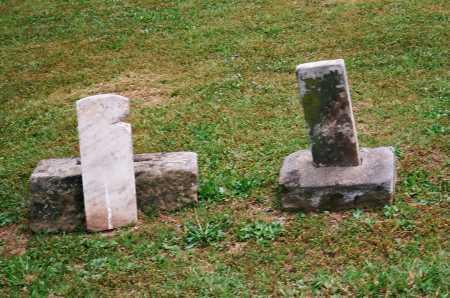HEINEY, E. E. M. - FOOTSTONE - Meigs County, Ohio | E. E. M. - FOOTSTONE HEINEY - Ohio Gravestone Photos