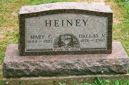 COWDERY HEINEY, MARY C. - Meigs County, Ohio | MARY C. COWDERY HEINEY - Ohio Gravestone Photos