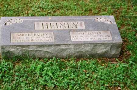 HEINEY, WM. JASPER - Meigs County, Ohio | WM. JASPER HEINEY - Ohio Gravestone Photos