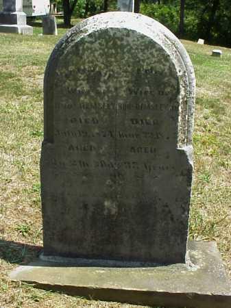HEMSLEY, HANNAH - Meigs County, Ohio | HANNAH HEMSLEY - Ohio Gravestone Photos