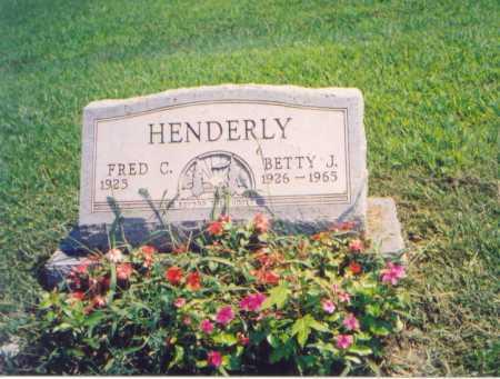HENDERLY, FRED C. - Meigs County, Ohio | FRED C. HENDERLY - Ohio Gravestone Photos