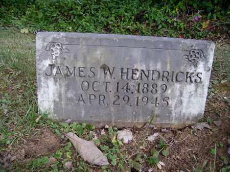 HENDRICKS, JAMES W. - Meigs County, Ohio   JAMES W. HENDRICKS - Ohio Gravestone Photos