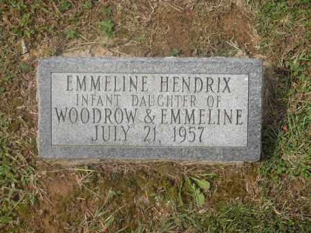 HENDRIX, EMMELINE - Meigs County, Ohio   EMMELINE HENDRIX - Ohio Gravestone Photos