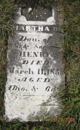 HENRY, MARTHA - Meigs County, Ohio | MARTHA HENRY - Ohio Gravestone Photos