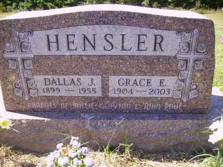 CANODE HENSLER, GRACE E. - Meigs County, Ohio | GRACE E. CANODE HENSLER - Ohio Gravestone Photos