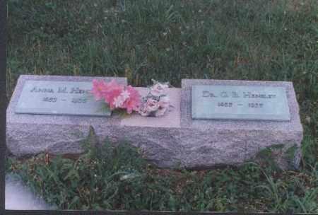 HENSLEY, ANNA M. - Meigs County, Ohio | ANNA M. HENSLEY - Ohio Gravestone Photos