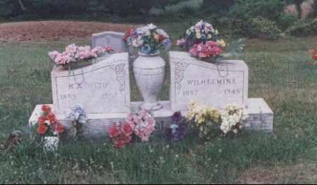 HENSLEY, WILHELMINA - Meigs County, Ohio | WILHELMINA HENSLEY - Ohio Gravestone Photos