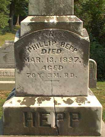 HEPP, PHILLIP - Meigs County, Ohio | PHILLIP HEPP - Ohio Gravestone Photos