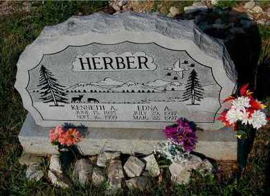 HERBER, EDNA A. - Meigs County, Ohio | EDNA A. HERBER - Ohio Gravestone Photos