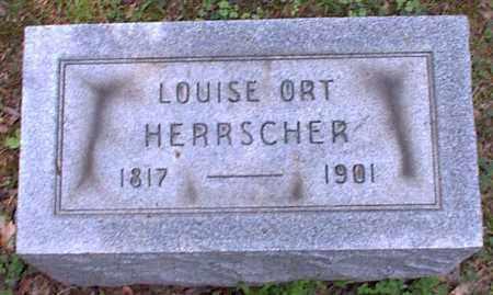 ORT HERRSCHER, LOUISE - Meigs County, Ohio | LOUISE ORT HERRSCHER - Ohio Gravestone Photos