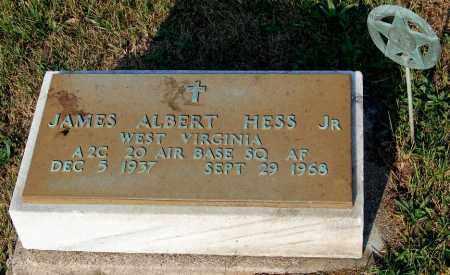 HESS, JAMES ALBERT - Meigs County, Ohio | JAMES ALBERT HESS - Ohio Gravestone Photos