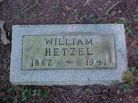 HETZEL, WILLIAM - Meigs County, Ohio   WILLIAM HETZEL - Ohio Gravestone Photos