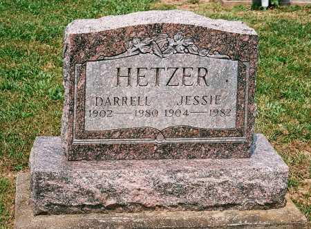 HETZER, DARRELL - Meigs County, Ohio   DARRELL HETZER - Ohio Gravestone Photos