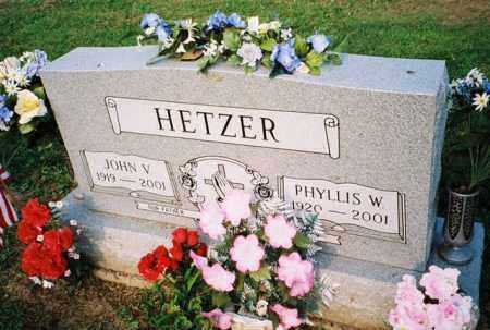 HETZER, JOHN - Meigs County, Ohio | JOHN HETZER - Ohio Gravestone Photos