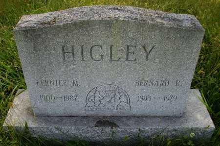 HIGLEY, BERNICE M. - Meigs County, Ohio | BERNICE M. HIGLEY - Ohio Gravestone Photos