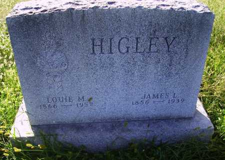 HIGLEY, JAMES L. - Meigs County, Ohio | JAMES L. HIGLEY - Ohio Gravestone Photos