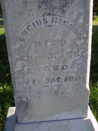 HIGLEY, LUCIUS - Meigs County, Ohio | LUCIUS HIGLEY - Ohio Gravestone Photos