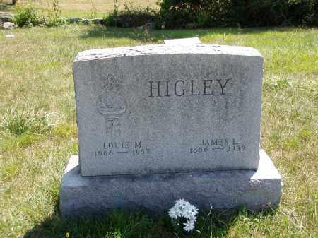 HIGLEY, LOUIE M. - Meigs County, Ohio | LOUIE M. HIGLEY - Ohio Gravestone Photos