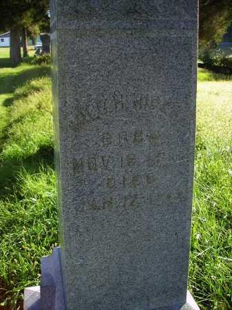 HIGLEY, MILO HARVEY - Meigs County, Ohio | MILO HARVEY HIGLEY - Ohio Gravestone Photos