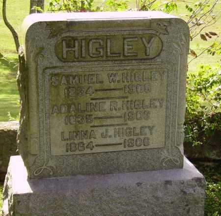 HIGLEY, SAMUEL W. - Meigs County, Ohio | SAMUEL W. HIGLEY - Ohio Gravestone Photos
