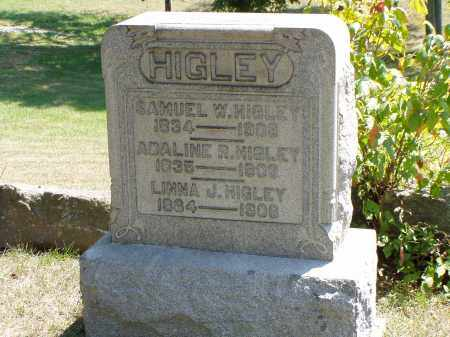 HIGLEY, ADALINE R. - Meigs County, Ohio | ADALINE R. HIGLEY - Ohio Gravestone Photos