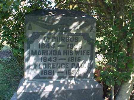 HILAND, MARINDA - Meigs County, Ohio | MARINDA HILAND - Ohio Gravestone Photos
