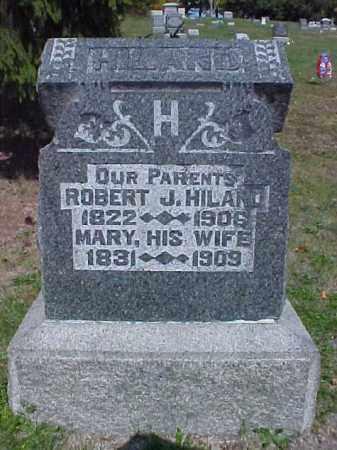 HILAND, MARY - Meigs County, Ohio   MARY HILAND - Ohio Gravestone Photos