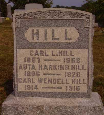 HILL, CARL WENDELL - Meigs County, Ohio | CARL WENDELL HILL - Ohio Gravestone Photos