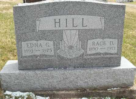 HILL, EDNA - Meigs County, Ohio | EDNA HILL - Ohio Gravestone Photos