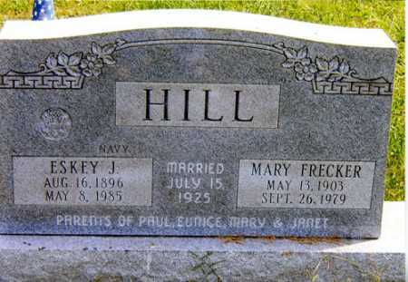 HILL, ESKEY J - Meigs County, Ohio | ESKEY J HILL - Ohio Gravestone Photos