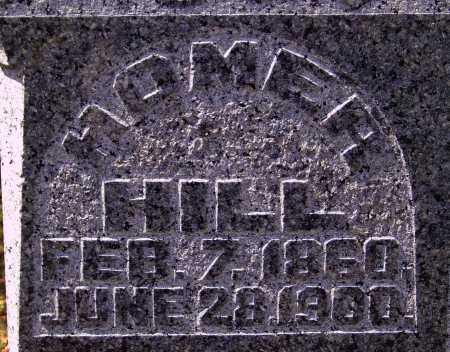 HILL, HOMER - Meigs County, Ohio   HOMER HILL - Ohio Gravestone Photos