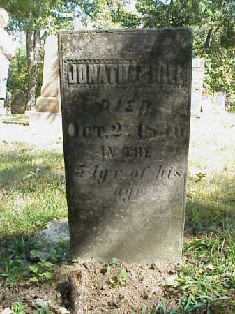 HILL, JONATHAN - Meigs County, Ohio | JONATHAN HILL - Ohio Gravestone Photos